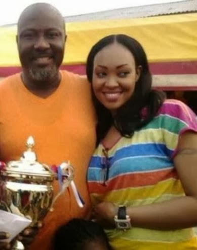 dino melaye new wife