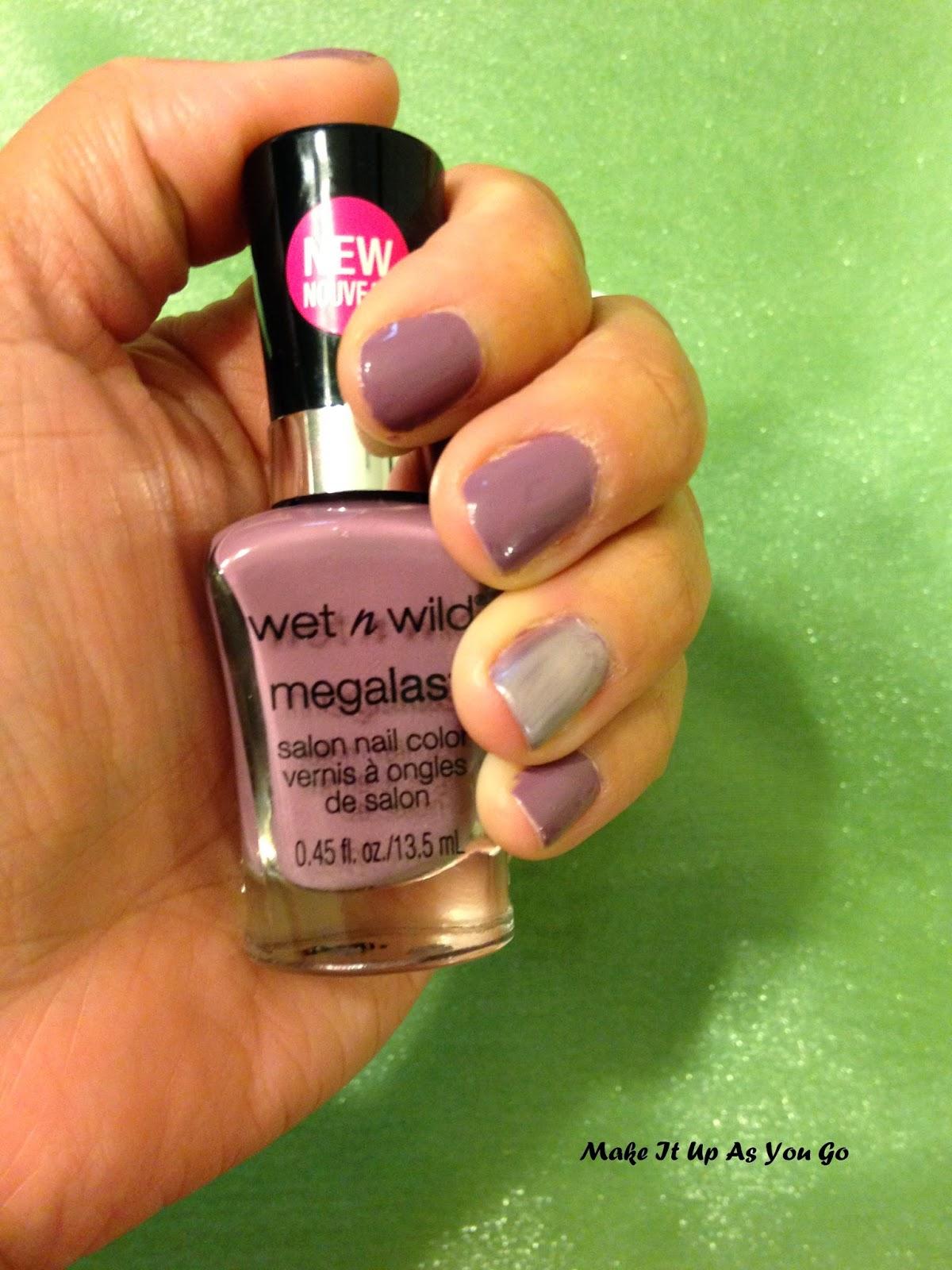 Make It Up As You Go: Nail Polish Change - Wet n Wild Megalast Salon ...