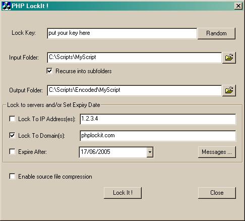 php lockit + crack