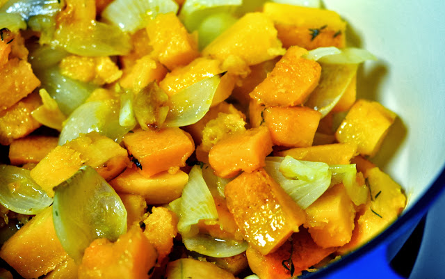 Roasted Butternut Squash and Onions | Taste As You Go