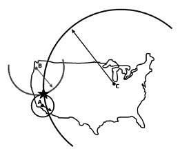Penentuan Lokasi Gempa dengan Metode Episentral Teknik penentuan lokasi gempa Bumi berdasarkan metode episentral