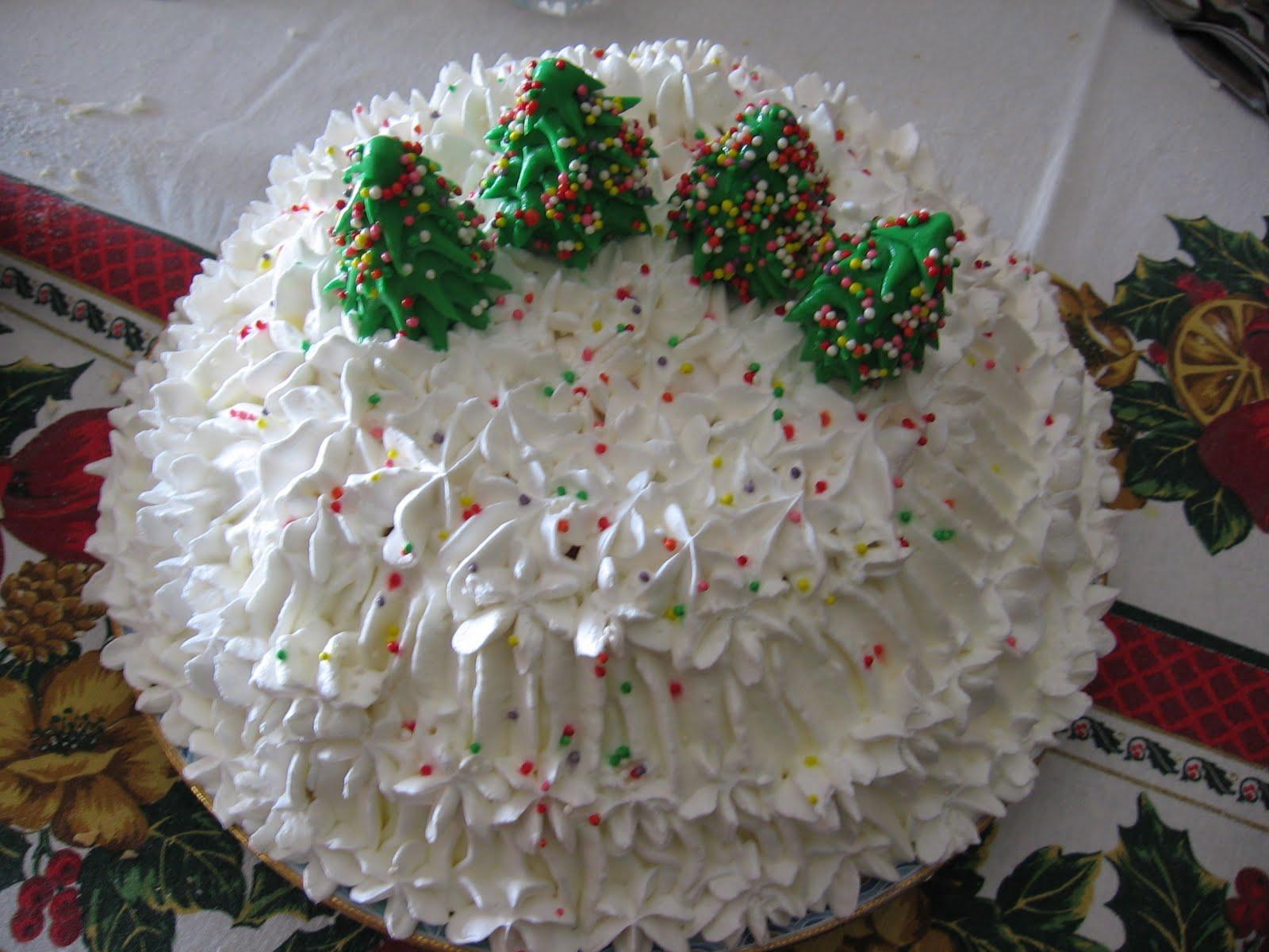 Dalla a allo zucchero zuccotto toscano versione natalizia for Decorazione zuccotto