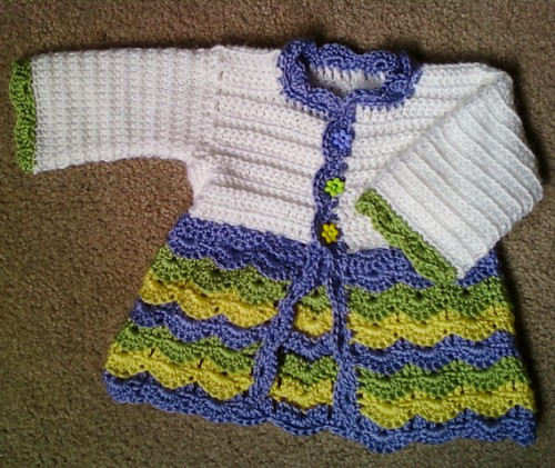 Spring Baby Outfit - Free Pattern