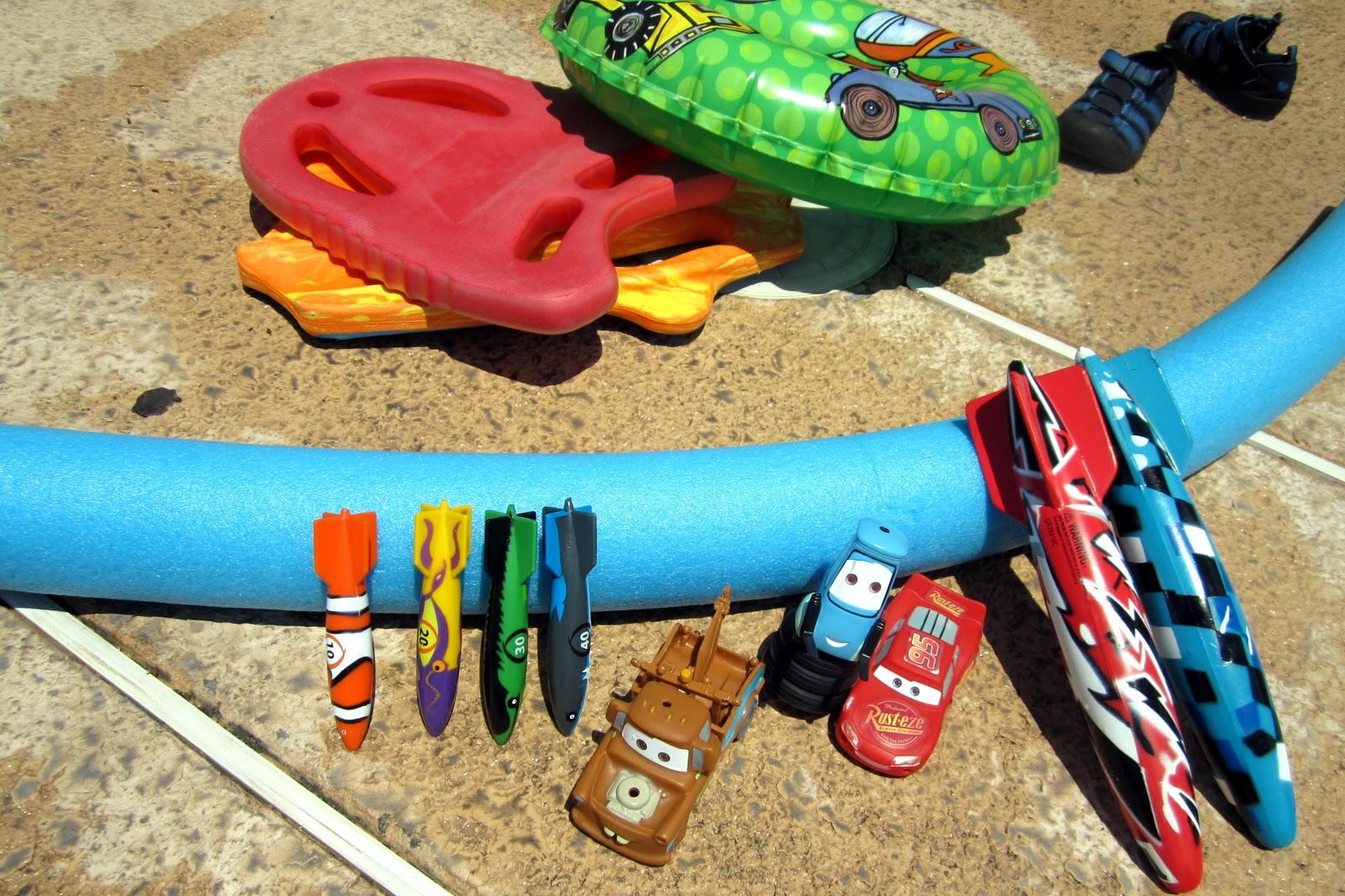 Sunny Days Our Favorite Swim Toys