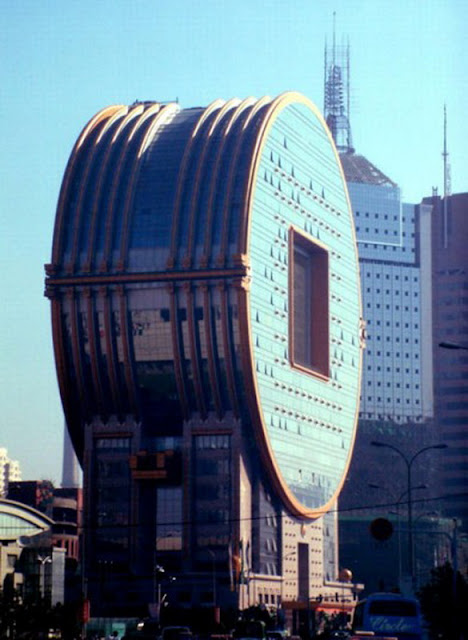 Edificio «Colmillo Yuan» en Shenyang, China.