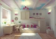 Habitaciones de Chicas Lindas habitacion nina con mural