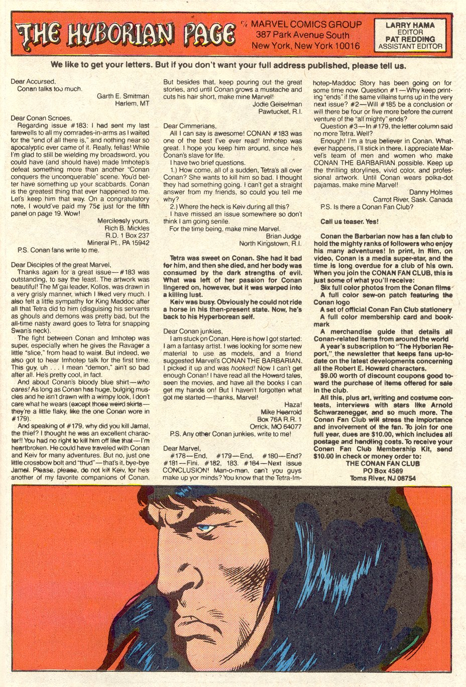 Conan the Barbarian (1970) Issue #188 #200 - English 25