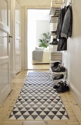Ideas para decorar y sacar partido al recibidor con elementos auxiliares prácticos