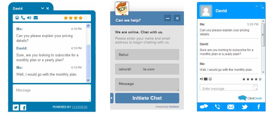 ClickDesk Live Support - Live Chat - Help Desk Plugin for Websites