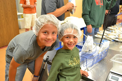 Feed my starving children,  shelby hohneke, miss wisconsin princess, volunteering,  Breanne Maples, National American Miss,  lani maples