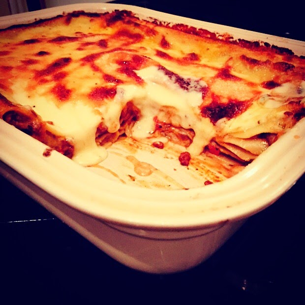 The Best Lasagne With Mature Cheddar Gruyere Cheese Sauce