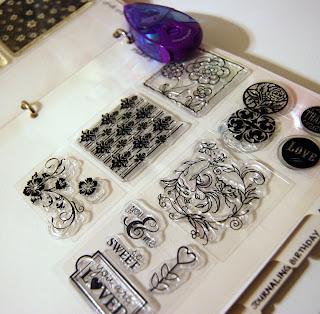 BeyondPrincess.blogspot.com: Clear Stamp Organization idea