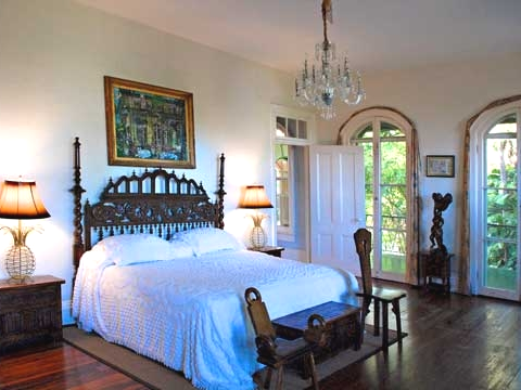 Ernest hemingway home tour key west florida completely for Key west style bedroom furniture