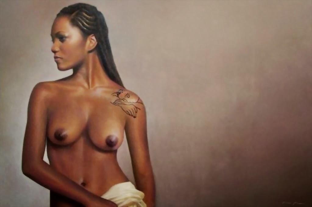 Africanas Pintura Al Oleo Arte Pintado A Mano De Negras