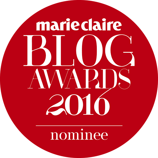 Nominee For Marie Claire Blog Awards