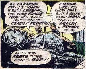 Detective Comics #438, Ubu in bandages