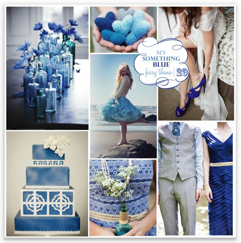 Blue seems to be emerging as a hot summer wedding colour and if you follow