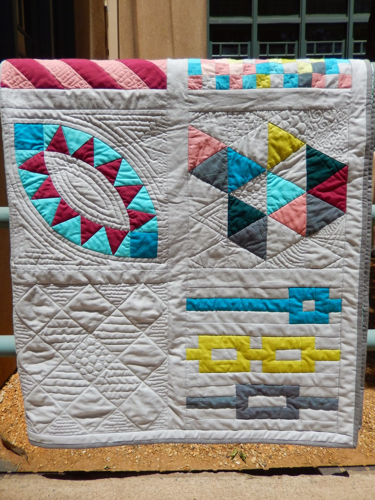 Modern Sampler by Afton Warrick @ Quilting Mod