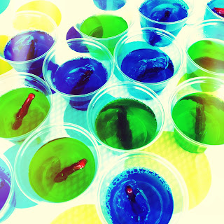 Larcie bird summer water party for Does swedish fish have gelatin