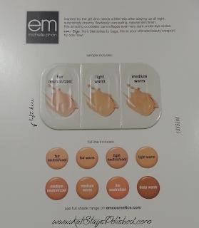 em michelle phan | em cosmetics : Concealer Sampler