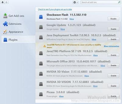 Mozilla Firefox Plugins