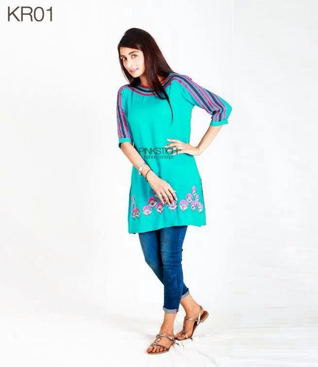 Pinkstich-Winter-Kurti-Collection