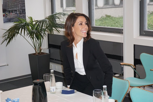 Princess Marie Visited The Crisis Management Center