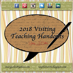 Visiting Teaching Handout
