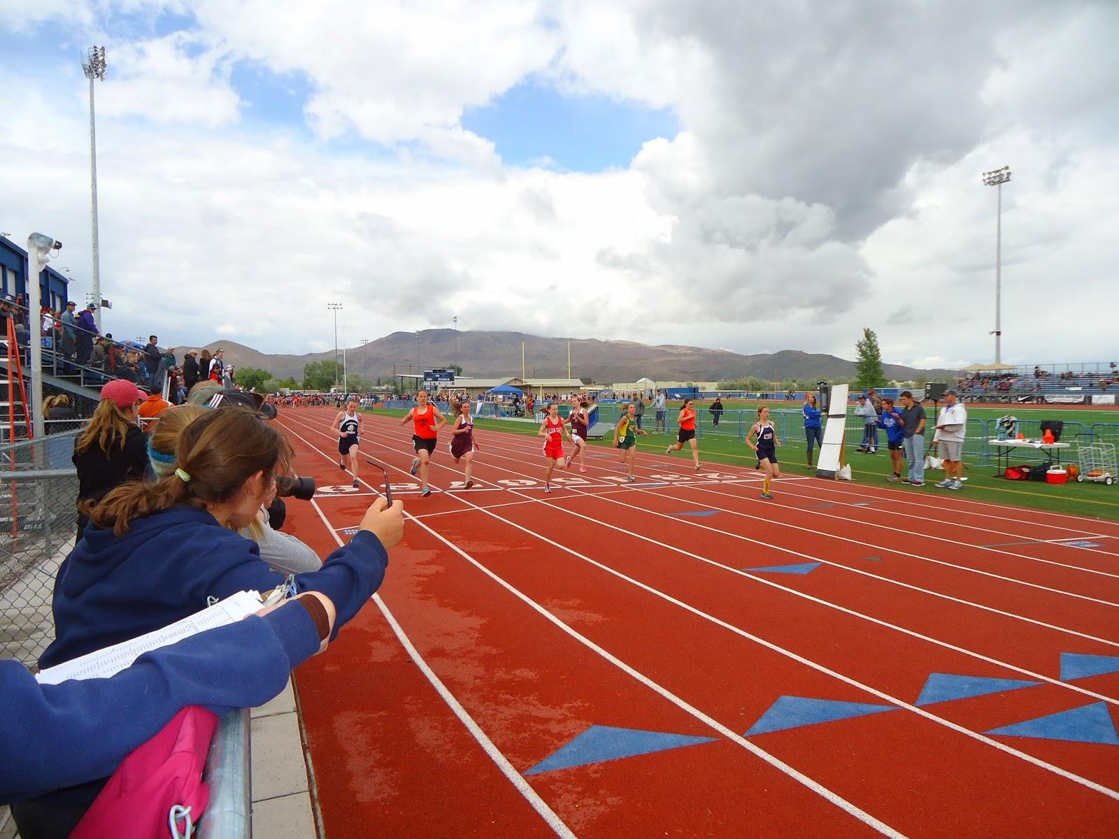 ACMS Track and Field team: Last week of school