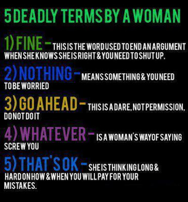 Top 5 Deadly Expressions Of Women PHOTO