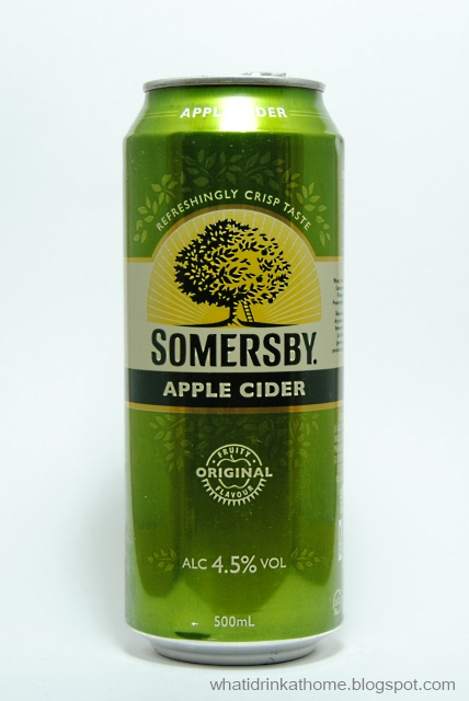 What I Drink At Home: Somersby Apple Cider Review