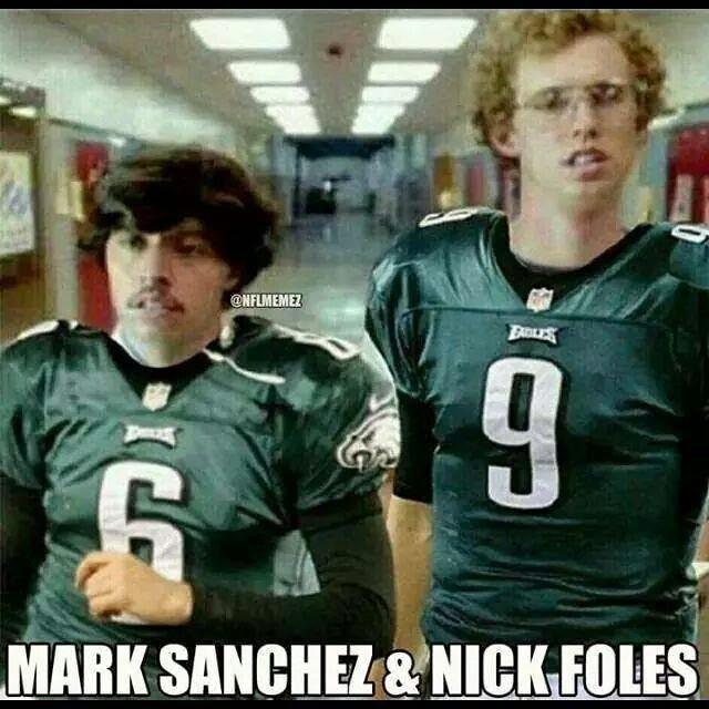 mark sanchez & nick foles