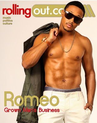 Romeo on Rolling Out Magazine cover