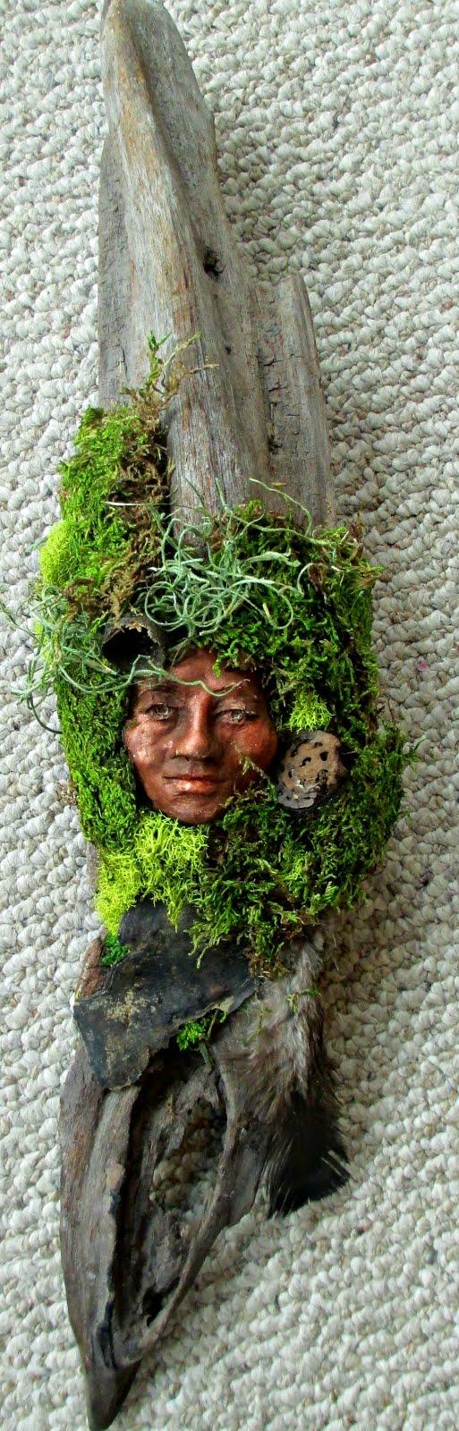 Healing Woman Grandmother Tree Wall Hanging