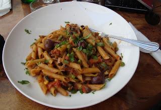 Macarrones vegetarianos Malta
