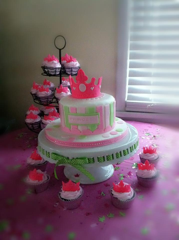 Cakes By Hotkist A New Little Princess Baby Shower Cake