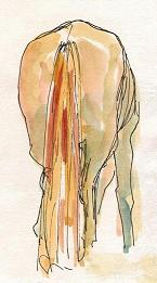 A chestnut gelding by Sophie Neville