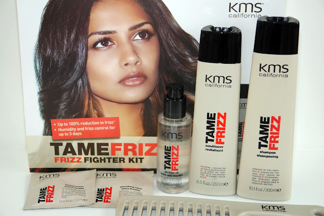 HAIR: KMS California Tame Frizz Range beauty, beauty regime, hair, KMS California, review,