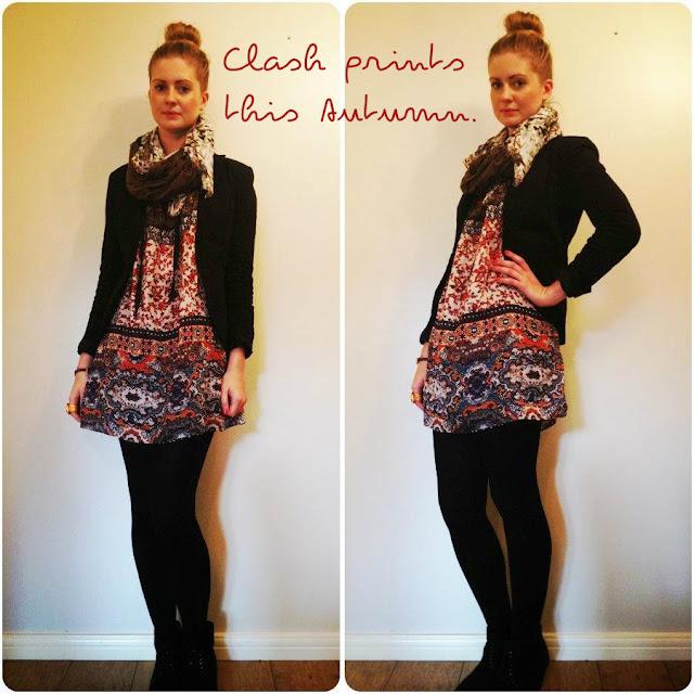 Zara print tunic