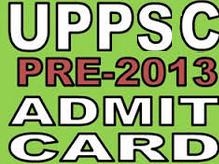 UPPSC admit card