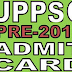 UPPSC PCS Admit Card 2013-uppsc.up.nic.in-Hall Ticket PCS (Prelim) 2013