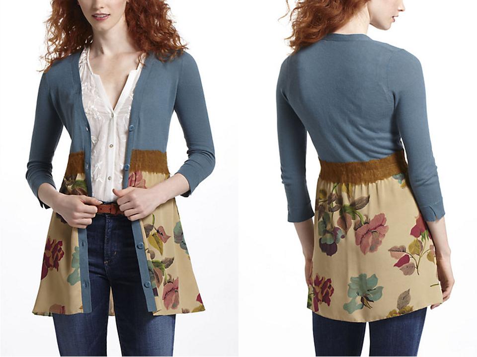 Desain Baju Cardigan Import