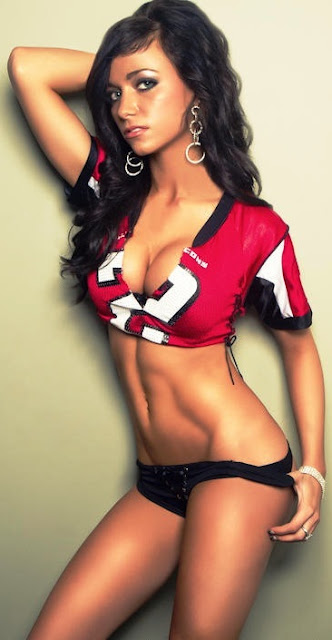 Beauty Babes 2013 Atlanta Falcons Nfl Season Sexy Babe