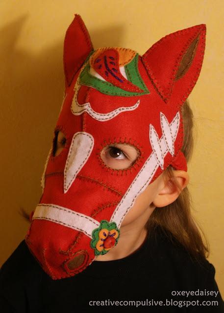 Dala Horse Mask