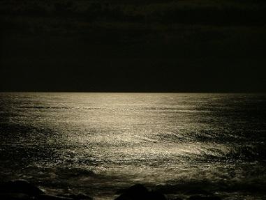 Mar silencio olas