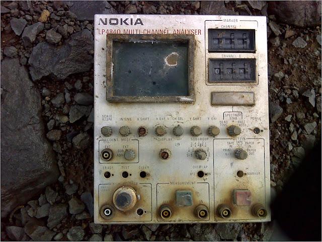 Норильск, ЛАЯМА, РГ-1М, анализатор Nokia LP-4840