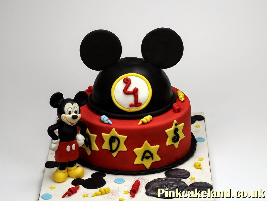 Mickey Mouse Birthday Cake, London