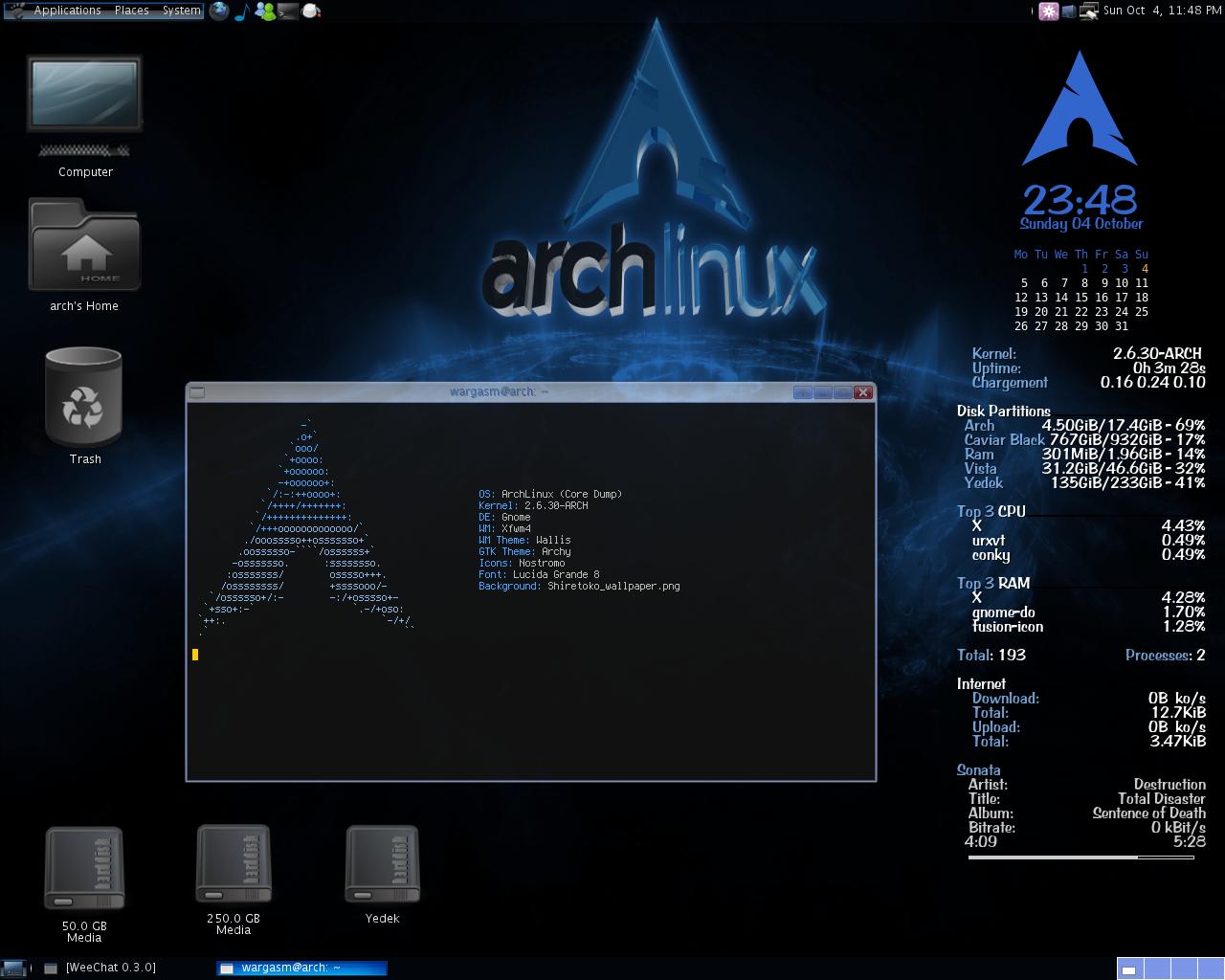 Terminal Bergaya Arch di Ubuntu