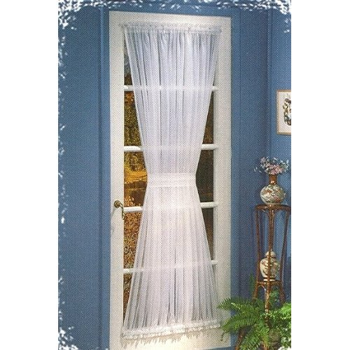 sugar bluff house inspiration french door curtain panel w tieback