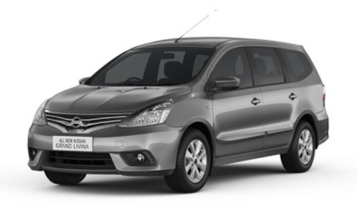 Grand Livina Grey - Nissan Mobil terbaik pilihan keluarga Indonesia